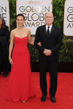 Luciana and Robert Duvall