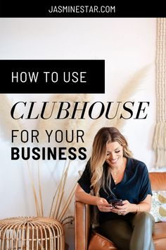 Have you heard of Clubhouse, the latest social media app that's trending across all industries? You can grow your business and professional network fast with the Clubhouse app. Need Clubhouse tips? Here is all you need to know about how to get started with the Clubhouse app including a Clubhouse checklist and 3 ways to grow your business with Clubhouse. Download the free Clubhouse 101 guide here! Small Business Marketing, Business Goals, Business Branding, Business Tips, Digital Marketing Strategy, Online Marketing, Social Media Marketing, Jasmine Star, Building A Personal Brand