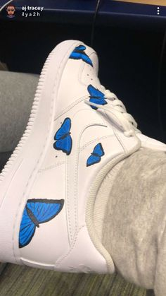 butterfly air force 1 lil skies