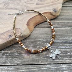 Beaded Necklace, Beaded Bracelets, Shimmer N Shine, Anklet, Jewelry Watches, Copper, Delicate, Charmed, Touch