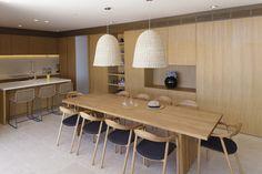 Design kitchen wood