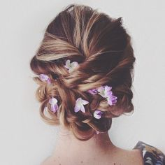 Hair Inspiration. Delicado e lindo