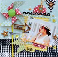 A Project by Patty Tanuz from our Scrapbooking Stamping Galleries originally submitted 10/18/13 at 07:17 PM