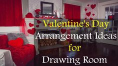 Valentine's Day Arrangement Ideas for Drawing Room | Life Skills TV