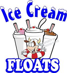 "Ice Cream Floats Concession Restaurant Food Truck Exterior Vinyl Decal (14"" x 13"") Harbour Signs http://www.amazon.com/dp/B01DQ2NKTG/ref=cm_sw_r_pi_dp_ysgbxb16PEXAK"