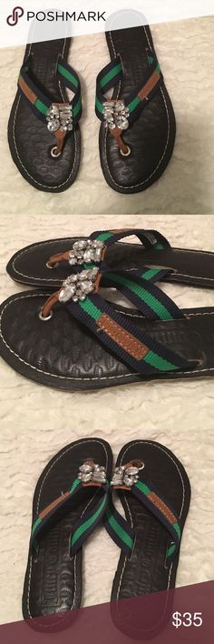 Juicy Couture embellished sandals size 6 Juicy Couture embellished sandals size 6 Shoes Sandals
