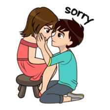 31 Ideas Funny Love Couple For 2019 Cute Love Pictures, Cute Cartoon Pictures, Cute Profile Pictures, Love Images, Sorry Images, Love Cartoon Couple, Cute Love Cartoons, Anime Love Couple, Cute Couple Drawings