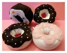 Donuts made from old socks! this is funny!