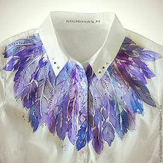 i hate purple. Dress Painting, T Shirt Painting, Fabric Painting, Fabric Paint Designs, Fabric Design, Custom Clothes, Diy Clothes, Paint Shirts, Textiles
