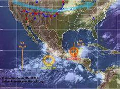 Periodismo sin Censura: Pronóstico Meteorológico General de México