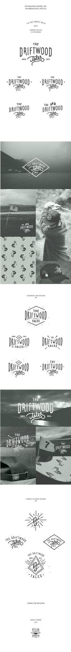 The Driftwood Tales by Gonzalo Lebrero, via Behance