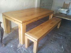 Κάντε click για μεγέθυνση Dining Bench, Tables, Furniture, Home Decor, Mesas, Dining Room Bench, Table Bench, Table, Interior Design