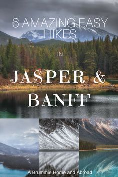 6 Amazing Easy Hikes to take in Jasper and Banff National Parks : A Brummie Home and Abroad 6 tolle und einfache Wanderungen in den Jasper & Banff Vancouver British Columbia, Vancouver Island, Rocky Mountains, Cool Places To Visit, Places To Travel, Travel Destinations, Alaska, Montreal, Alberta Travel