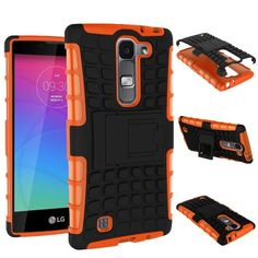 For LG Magna Case G4c H502F H525N H500F H522Y Heavy Duty Armor Shockproof Hybrid Hard Silicone Rubber Cover For LG G4 Mini ^<