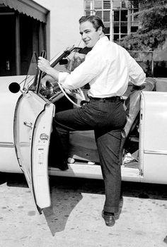 Just Marlon Brando getting into a car... No big deal...