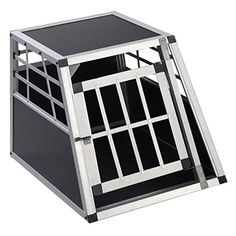 Goplus Solid Aluminum Dog Transport Box Dog Crate Kennel Pet Playpen Cage Wlock by Super buy >>> You can find out more details at the link of the image.Note:It is affiliate link to Amazon.