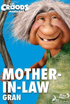 The Croods - Mother-In-Law - Movie