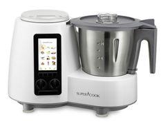 Supercook SC110, un robot de cocina con biblioteca de recetas