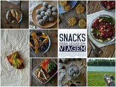 Snacks para levar em viagem - Compassionate Cuisine