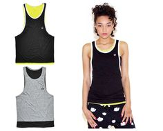 K1X Wmns Authentic Double Layer Tank Top. Perfect for workout or just strolling along the beach.