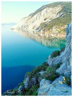 Skiathos, view from Kastro.
