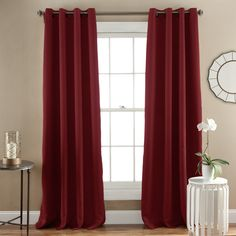 Jamel Window Curtain Pair