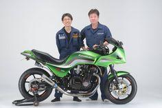 Kawasaki GPz 1100 Unitrak by Sanctuary