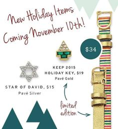 The remainder of the 2015 Holiday line will launch tomorrow morning! I can't wait to get my little hands on that gold Keeper! Which is your favorite??