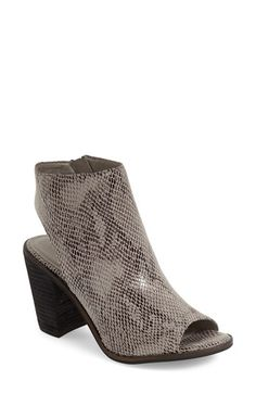 Very Volatile 'Sutton' Open Toe Bootie (Women) available at #Nordstrom