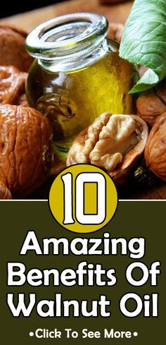 10 Amazing Benefits Of Walnut Oil: We all dread facing the persistent skin problem called psoriasis. Walnut oil beautifully helps you to cure it. Herbal Remedies, Health Remedies, Natural Remedies, Healthy Tips, How To Stay Healthy, Healthy Recipes, Healthy Facts, Easy Recipes, Walnut Oil Benefits