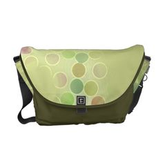 Cool Green Spotted Bag