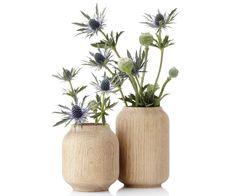 Applicata Poppy vaser - Trævaser hos Tinga Tango Designbutik i Nyborg