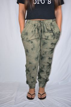 0f8f868155 Soft and light loose fitted tie dye printed woven pants with side pockets  and adjustable waist. Amis Amants