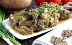 Бараньи ребрышки, томленные под луком   Кулинарные рецепты от «Едим дома!»