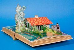 Vintage Italian Pinocchio Pop-Up