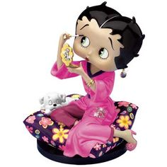 Betty Boop Final Touches