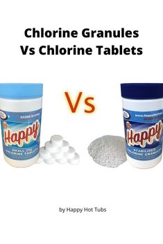 Chlorine is a very effective hot tub sanitiser and there are two main options for hot tubbers - chlorine granules or chlorine tablets. In order to see which option comes best, we analyse various factors including cost, ease of use, control of bacteria, impact on bathers and impact on other water chemistry.  #HappyHotTubs #Chlorine #Sanitiser #Hottubs #HotTub #Spa #Spas #Hot #Tubs #WhatsBest #HowTo Happy Hot, Hot Tubs, Spas, Factors, Chemistry, Water, Blog, Gripe Water, Blogging