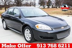 2014 Chevrolet Impala Limited $12900 http://www.countryhillolathe.com/inventory/view/9759093