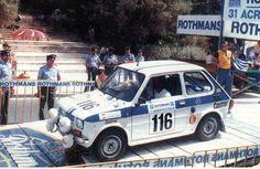 Rally Acrópolis de 1984 - Fiat 126p