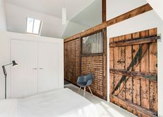 Horse stable transformed into house