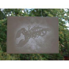 """#Lithophanie """"Sternzeichen Skorpion"""", 18x13cm, für Fenster, © Lithophanie24.de"""