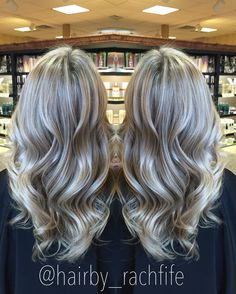 Icy ashy blonde   Hair by Rachel Fife @ Sara Fraraccio Salon in Akron, Ohio