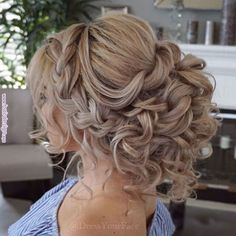 10 Romantic Hairstyles That You Will Want To Wear On Your Wedding Day – 10 romantische kapsels die je op je trouwdag wilt dragen – Romantic Hairstyles, Wedding Hairstyles For Long Hair, Wedding Hair And Makeup, Bride Hairstyles, Hair Wedding, Romantic Updo, Prom Hair Updo, Wedding Shoes, Braided Bridal Hairstyles