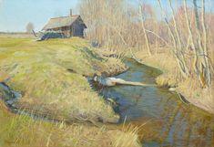 Татьяна Юшманова. Апрельское солнце. 2010 г. Холст, масло. 45х65 см