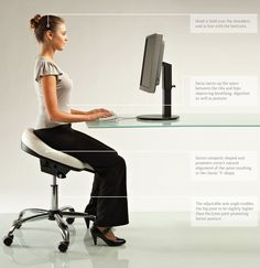 The correct way to sit to inspire movement-image via Saiza