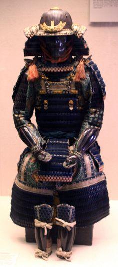 https://flic.kr/p/5GEbEd | samurai armour | Victoria and Albert Museum London, England, U.K
