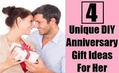 4 Unique DIY Anniversary Gift Ideas For Her