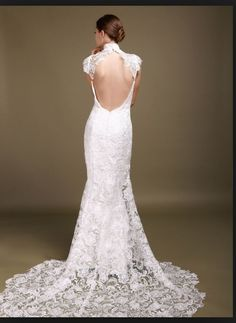 Open back lace front