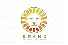 Logo for sale: Sun Lion Logo