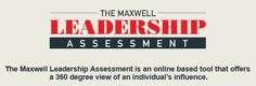 John Maxwell Leadership Assessment Tool to grow your #leadership.